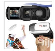 Virtual Reality Box With Bluetooth Joystic Remote Contrller | Accessories for Mobile Phones & Tablets for sale in Lagos State, Ikeja