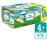 Heinz Mum'S Own Rice Pudding 4months+ 6x120g | Baby & Child Care for sale in Lagos State, Ajah