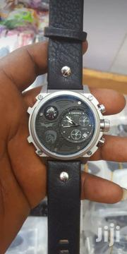 Diesel Leather Wrist Watch | Watches for sale in Lagos State, Ikoyi