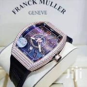 Franck Muller Leather Wrist Watch | Watches for sale in Lagos State, Ikoyi