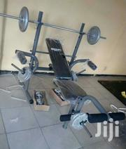 Weight Lifting Bench With 50kg Weight | Sports Equipment for sale in Abuja (FCT) State, Nyanya