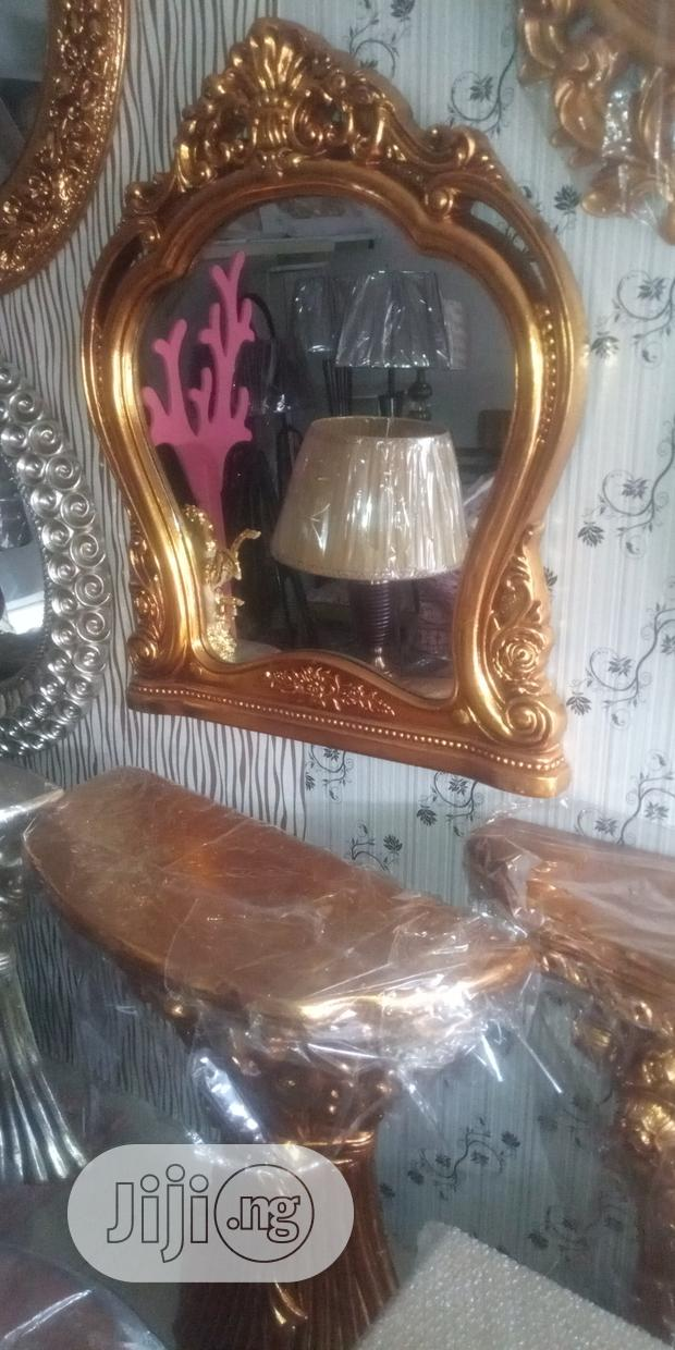 Archive: Console Table And Mirror