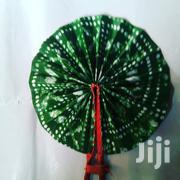 Ankara/Leather Handfan | Clothing Accessories for sale in Lagos State, Magodo