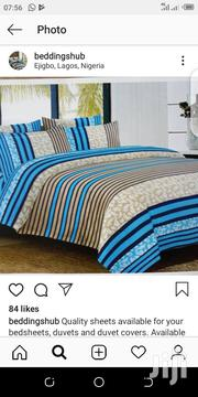 Complete 6*6 Duvet , Bedsheet And 4 Pillow Cases | Home Accessories for sale in Lagos State, Ikeja