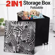 Foldable Storage Box/Stool | Home Accessories for sale in Lagos State, Ibeju