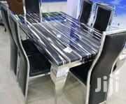 Quality 6 Seaters Marble Dining Table | Furniture for sale in Lagos State, Lekki Phase 1