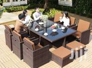 New Complet Set of Turkey Rattan Chair Table (For in Out Door)   Furniture for sale in Lagos State, Victoria Island