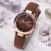 Brown Simple Leather Wristwatch   Watches for sale in Lagos State, Ikeja