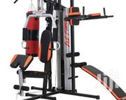 Home Gym With Boxing Bag | Sports Equipment for sale in Akwa Ibom State, Uyo