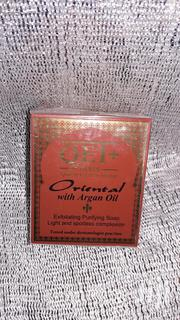 QEI+ Oriental With Argan Oil Exfoliating Purifying Soap | Bath & Body for sale in Lagos State, Lekki Phase 1