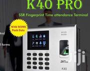 ZKT K40 Time Attendance With TCP/IP, Built-in Battery Access Control   Computer Hardware for sale in Lagos State, Ikeja