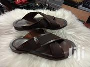 Brown Color Pure Italian Brands Sandals for Men of Class and Quality | Shoes for sale in Lagos State, Lagos Island