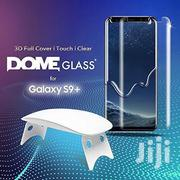 Samsung S9+ Dome Glass Full Cover Screen Protector Ligud Glass | Accessories for Mobile Phones & Tablets for sale in Lagos State, Ikeja