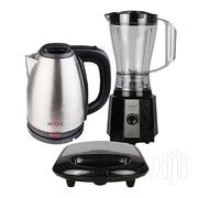 Nexus Blender + 1.5 Kettle + Sandwich Maker With Grill. | Kitchen Appliances for sale in Lagos State, Ibeju