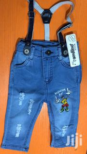 Baby Jeans With Suspenders | Children's Clothing for sale in Lagos State, Lagos Mainland