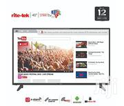 Rite-tek 40-inch Android Smart FHD LED TV + Smart Air Remote | TV & DVD Equipment for sale in Abuja (FCT) State, Wuse II