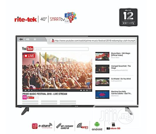 Rite-tek 40-inch Android Smart FHD LED TV + Smart Air Remote