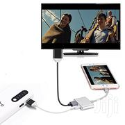 Lightning Digital AV Adapter Cable For iPhone HDMI/ HDTV TV | Accessories & Supplies for Electronics for sale in Lagos State, Ikeja