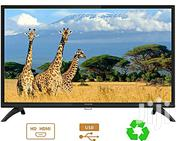"""Coocaa 32"""" LED HD With Stereo Audio TV- Black - Made By Skyworth 