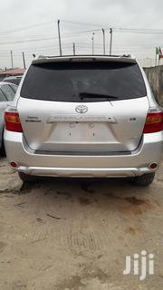 Toyota Highlander Limited 4x4 2008 Silver | Cars for sale in Lagos State, Ikeja