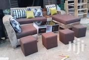 L-Shape Sofas , Couches With Single Seater Chair, Table and Ottomans. | Furniture for sale in Lagos State, Ajah