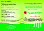 A 3-day Workshop Being Organized In Collaboration With CIPSMN | Classes & Courses for sale in Enugu State, Enugu
