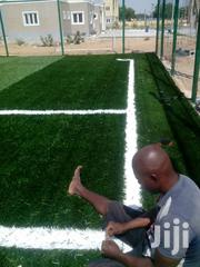 Artificial Grass Football Pitch Construction Ongoing | Building & Trades Services for sale in Lagos State, Ikorodu