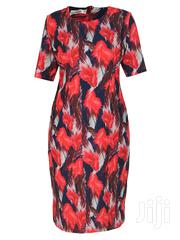 Floral Print Midi Dress | Clothing for sale in Lagos State, Ikeja