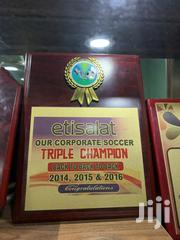 Award Plaque With Print | Arts & Crafts for sale in Lagos State, Maryland