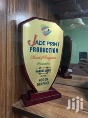 Award Plaque With Print | Arts & Crafts for sale in Lagos State, Apapa