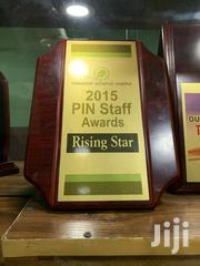 Wooden Plaque Award With Printing | Arts & Crafts for sale in Lagos State, Lekki Phase 2