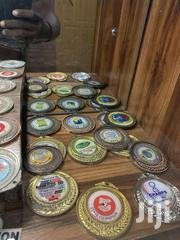 Gold Medal With Print | Arts & Crafts for sale in Lagos State, Ojodu