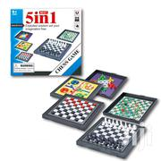 Chess Game - Mini Five - In - One Board Game | Books & Games for sale in Oyo State, Akinyele