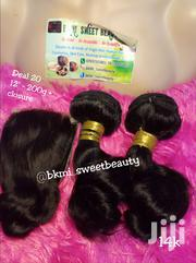 Raw Virgin Loose Wave Human Hair With Closure '12' Inches. | Hair Beauty for sale in Lagos State, Lagos Mainland