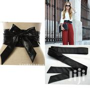 Women Bow Style Design Leather Belt | Clothing Accessories for sale in Lagos State, Ikeja