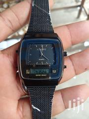 Casio Unisex Black Chain Wristwatch | Watches for sale in Lagos State, Surulere