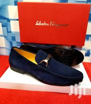 Blue Suede Loafers Shoes by S. Ferragamo | Shoes for sale in Lagos State, Lagos Island