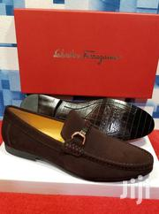 Brown Suede Loafers Shoes by S. Ferragamo | Shoes for sale in Lagos State, Lagos Island