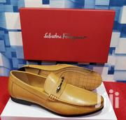 Lite Brown Loafers Shoes by S. Ferragamo | Shoes for sale in Lagos State, Lagos Island