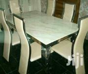 Marble Dining Table By 6 | Furniture for sale in Lagos State, Ojo