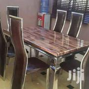 Standard Marble Dining Table by 6 | Furniture for sale in Lagos State, Ojo
