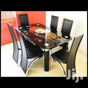 Top Quality Glass Dining Table by 6 | Furniture for sale in Lagos State, Ojo