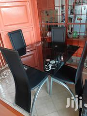Unique Glass Dining Table by 4 | Furniture for sale in Lagos State, Ojo