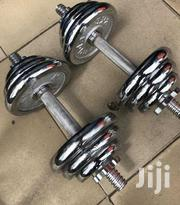 20kg Chrome Adjustable Dumbell | Sports Equipment for sale in Lagos State, Ikeja