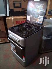 Brand New Bruhm Gas Cooker 4 Gas Burner Automatic Blueflame With Oven | Kitchen Appliances for sale in Lagos State, Ojo