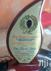 Wooden Plaque Award With Printing | Arts & Crafts for sale in Abuja (FCT) State, Utako