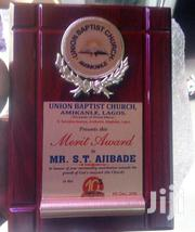 Presentable Wooden Plaque Award With Printing | Arts & Crafts for sale in Abuja (FCT) State, Maitama