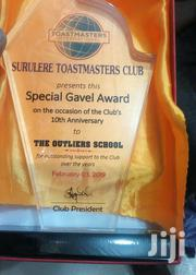 Acrylic Award With Printing | Arts & Crafts for sale in Abuja (FCT) State, Gwagwalada