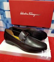 Plain Black S. Ferragamo Loafers Shoes for Men | Shoes for sale in Lagos State, Lagos Island