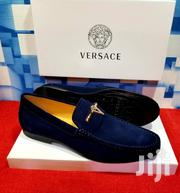 Blue Suede Loafers Shoe by Versace | Shoes for sale in Lagos State, Lagos Island